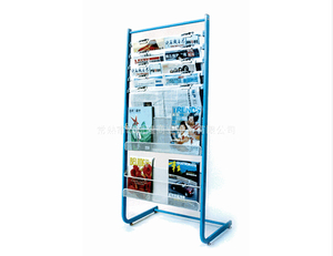 Newspaper display shelf13