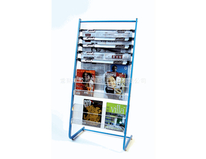 Newspaper display shelf14