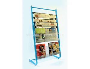 Newspaper display shelf15