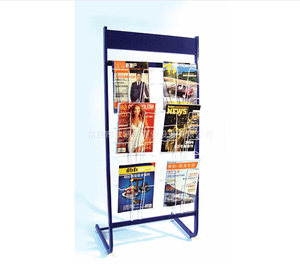Newspaper display shelf18