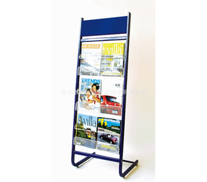 Newspaper display shelf20