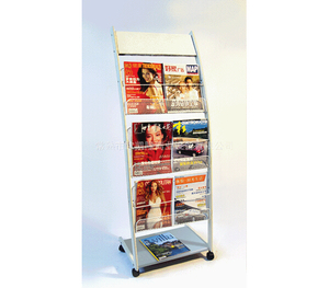 Newspaper display shelf17