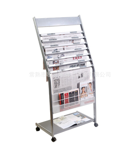 Newspaper display shelf22