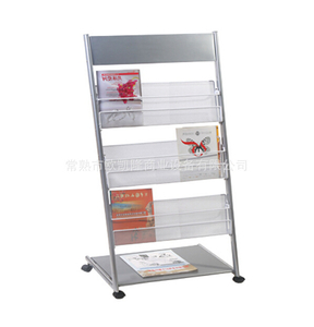 Newspaper display shelf21