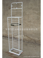 Display shelf of iron wire products5