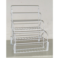 Display shelf of iron wire products3