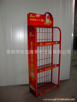 Display shelf of iron wire products6