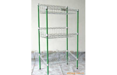 Display shelf of iron wire products13