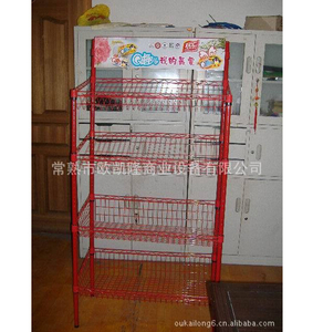 Display shelf of iron wire products19