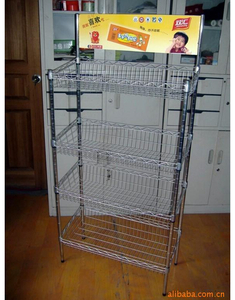 Display shelf of iron wire products18